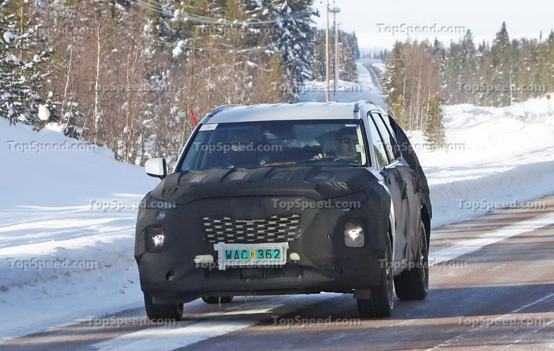 Here's What We Know About the Hyundai Palisade So Far Exterior Spyshots - image 786057