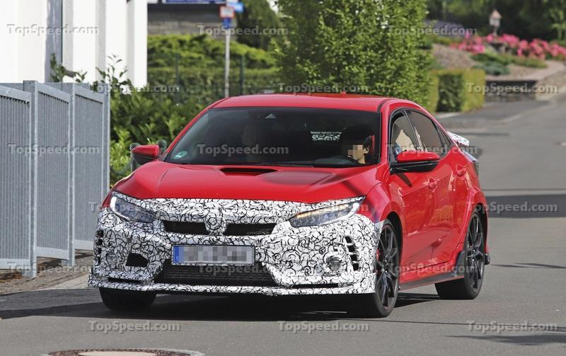 Updated Honda Civic Type R Caught Testing; It Could be a Hotter Version!