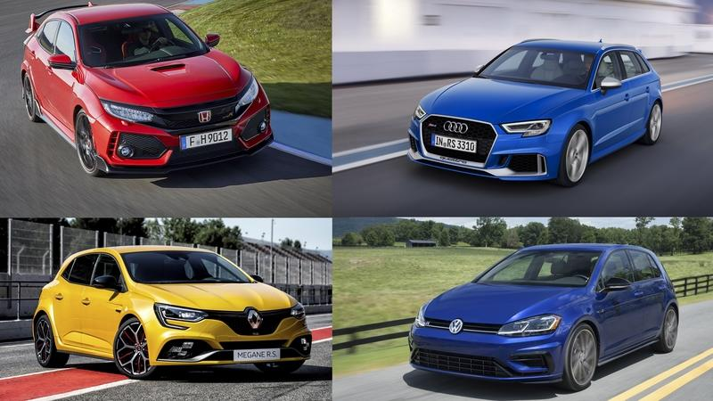 Hot Hatchbacks with 300+ Horsepower: A Complete List