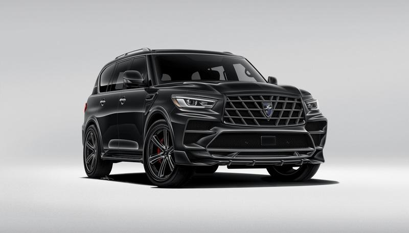 2018 Infiniti QX80 by Larte Design