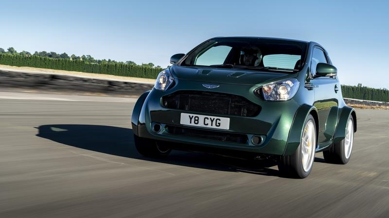 The Insane Aston Martin Cygnet V8 Is A 123 Inch Car With A V8