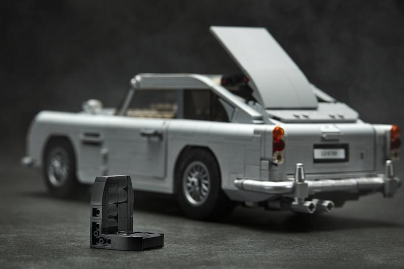 Lego Releases James Bond Aston Martin Db5 Kit Comes With All Your