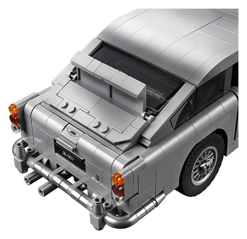 Lego Releases James Bond Aston Martin DB5 Kit, Comes With All Your Favorite Spy Fantasy Gadgets