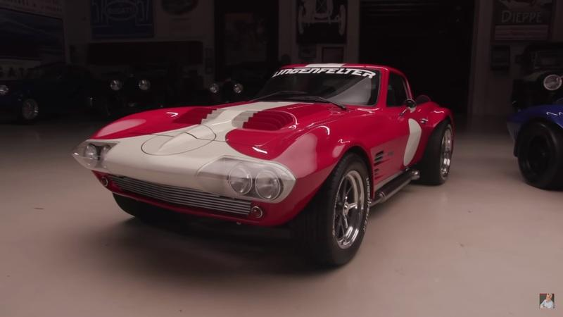 Jay Leno's Garage: Taking the Superformance Corvette Grand Sports for a Spin
