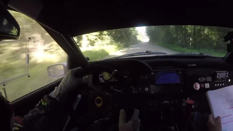 Ken Block's Ford Escort Cosworth Crashes During Rally, Turns Into Car-B-Q