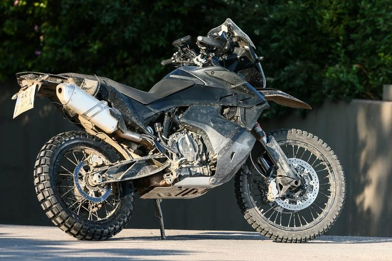 KTM's new 790 Adventure R comes out of the dark