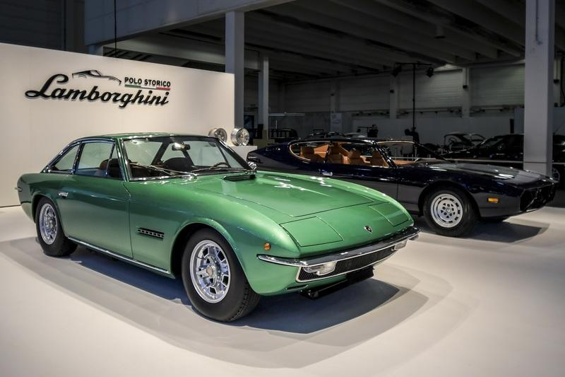 Lamborghini restores Espada and Islero for their 50th anniversary celebrations