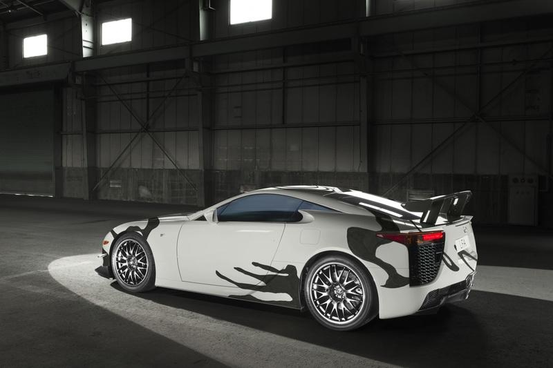 Lexus LF-A Art Car celebrates 10 Years of F Performance Cars - image 788226