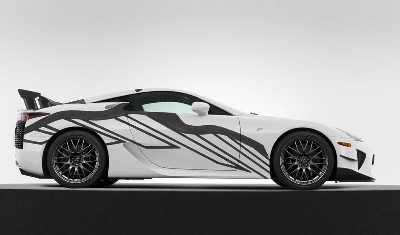 Lexus LF-A Art Car celebrates 10 Years of F Performance Cars - image 788227