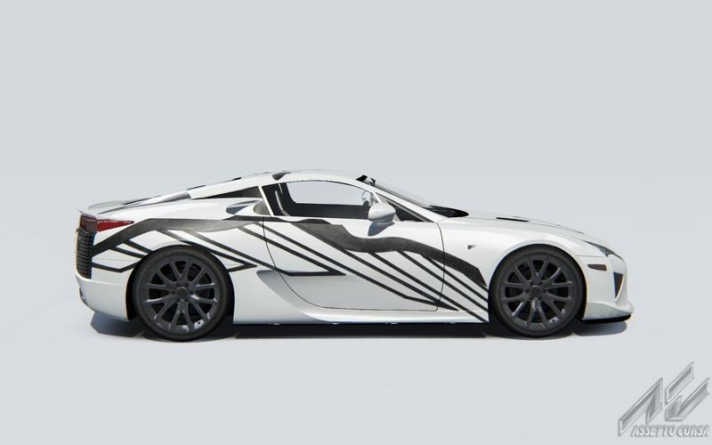 Lexus LF-A Art Car celebrates 10 Years of F Performance Cars - image 788230