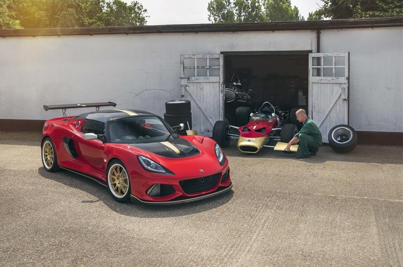 2018 Lotus Exige Type 49 and Type 79