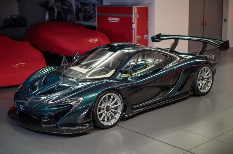 McLaren P1 GT by Lanzante Makes Brief Appearance at Goodwood