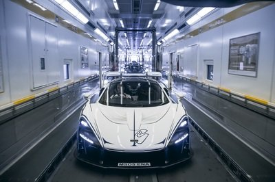 The McLaren Senna, Chassis No. 001 Has Been Delivered; Will Call London Home