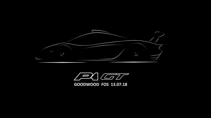McLaren Teases New P1 GT for Goodwood Festival of Speed