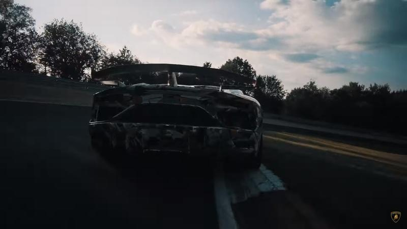 New video claims the Lambo Aventador SVJ was designed to have the best handling