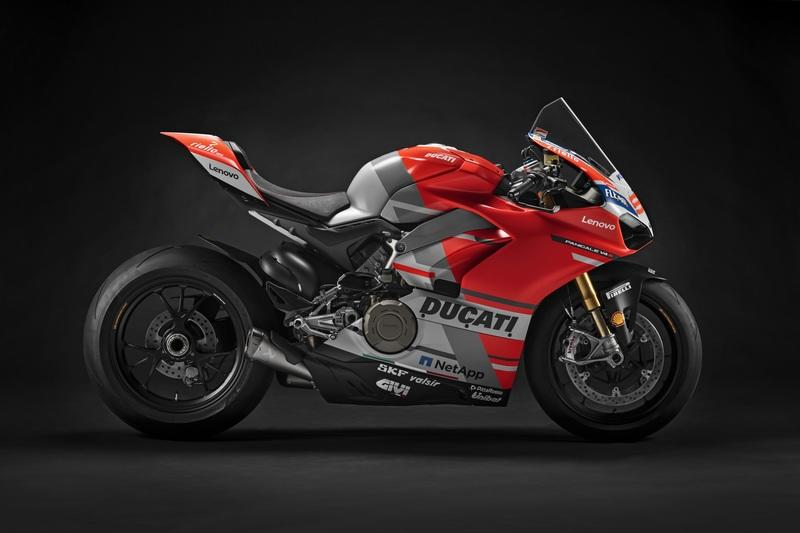 Twelve one-off Ducati V4 S race spec machines up for grabs