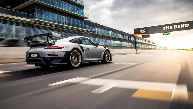 Porsche Dominates The New Australian Racetrack