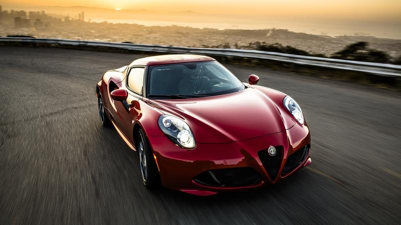 Prepare to Say Goodbye to the Alfa Romeo 4C Coupe