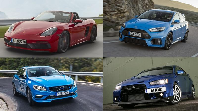 Ranked: The Most Powerful Four-Cylinder Production Cars (and One From 1911)