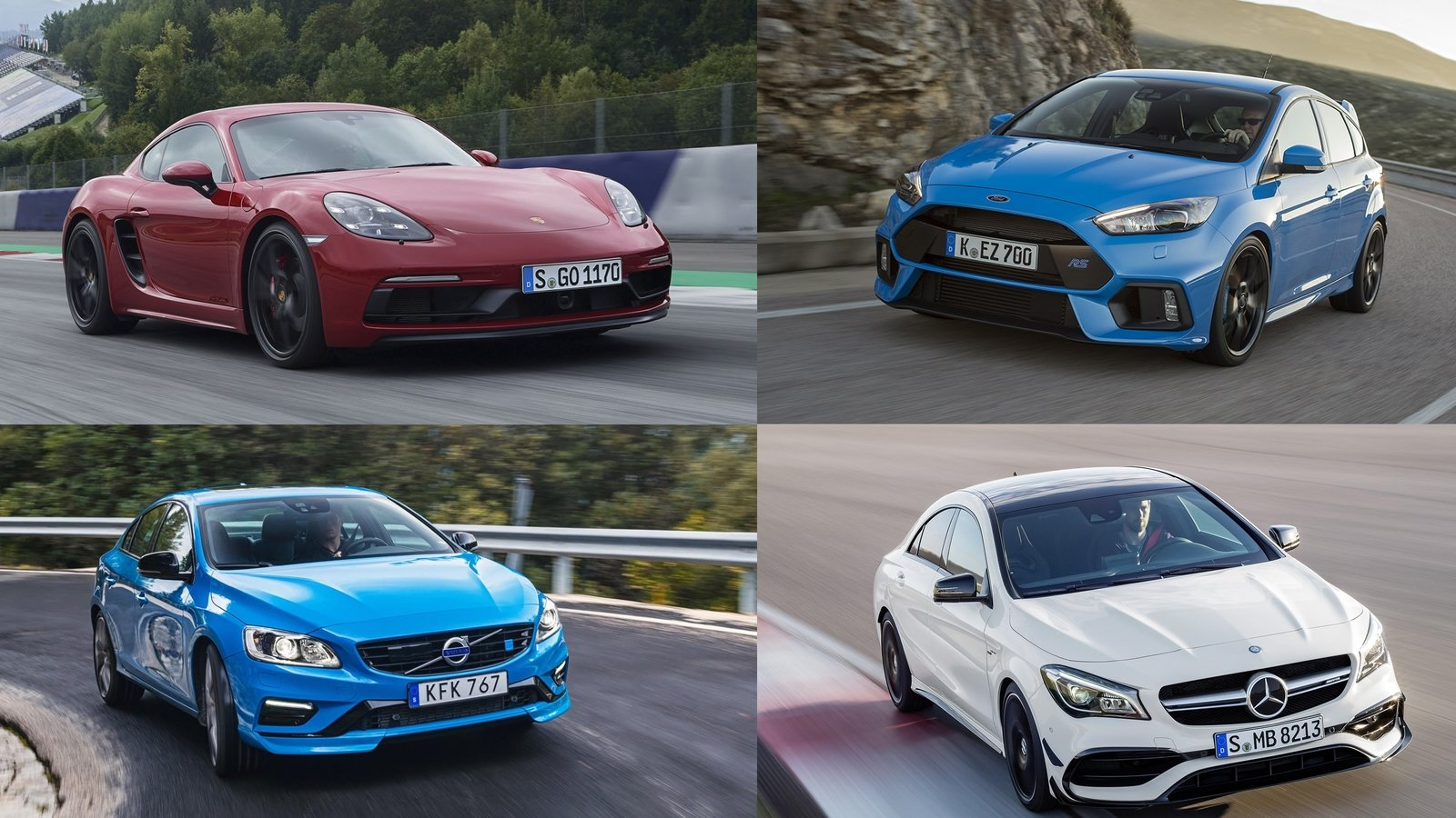 Ranked: The Most Powerful Four-Cylinder Production Cars (and