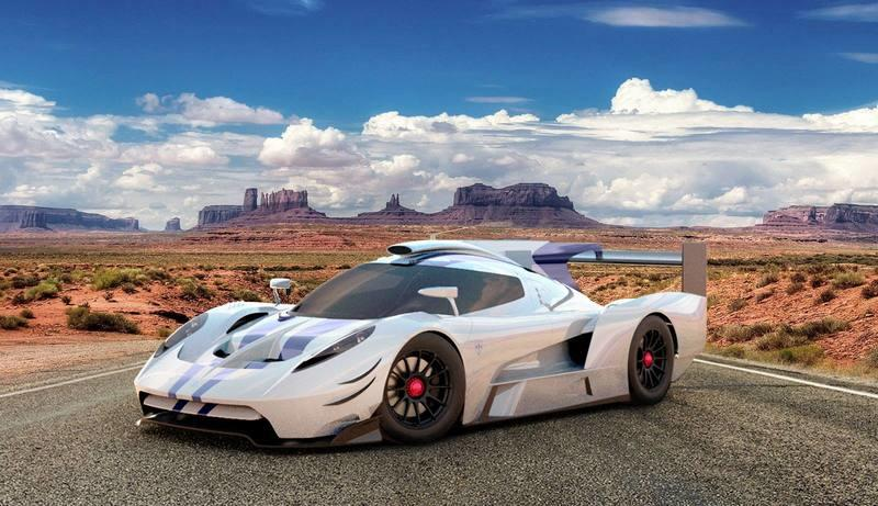 Wow! The Glickenhaus 007 LMH's V-8 Sounds Devilishly Mean