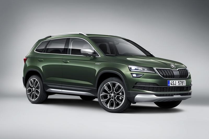 Skoda Karoq Scout Revealed As An Off-road Eager Crossover