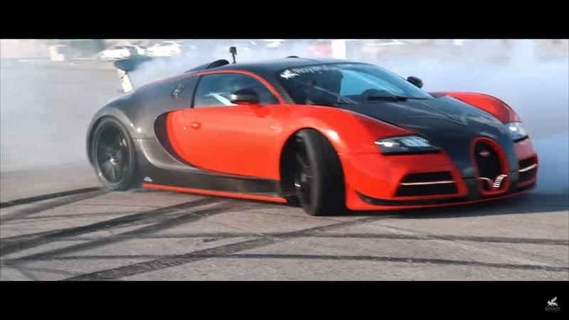 Someone Finally Did It - A Rear-Wheel Drive Bugatti Veyron