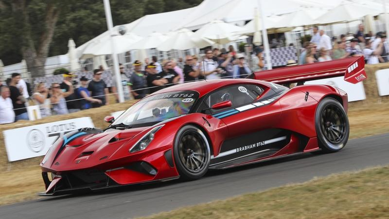 The Brabham BT62 was Showcased at Goodwood, Symbolizing the Return of an Iconic Brand