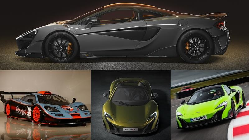 "The New McLaren 600LT is the Fourth ""Longtail"", What Are the Other Three?"