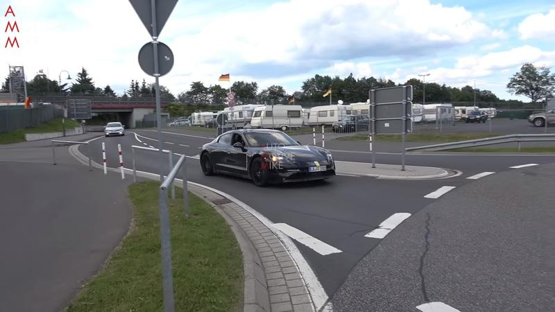 The Porsche Taycan Doesn't Seem to Have Much Soul During These Silent, Slow Passes on the Nurburgring