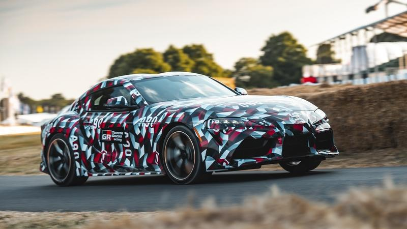 The Slightly Underwhelming Debut of the 2019 Toyota Supra at the Goodwood Festival of Speed