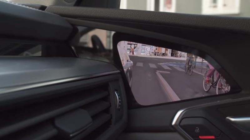 The Virtual Mirrors on the Audi E-Tron are Futuristically Cool