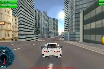 City Car Driving Simulator Top Speed