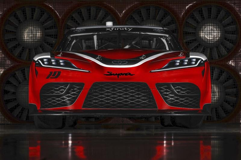 The Toyota Supra Will Take on the Mustang and the Camaro in NASCAR's 2019 Season