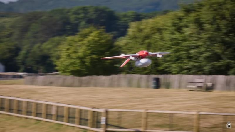 Video: Drone Speed World Record Broken at Goodwood FOS