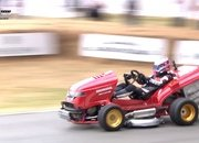 Video: Honda Mean Mower V2 Slices Up Lord March's Driveway - image 786821