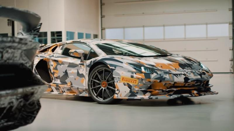 Video: Lamborghini Teases Aventador SVJ Run at the Nürburgring