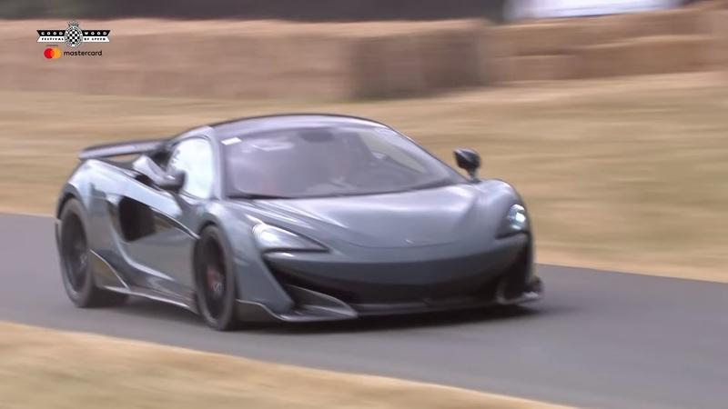 Video: McLaren 600LT Makes Some Smoke at the Goodwood Festival of Speed