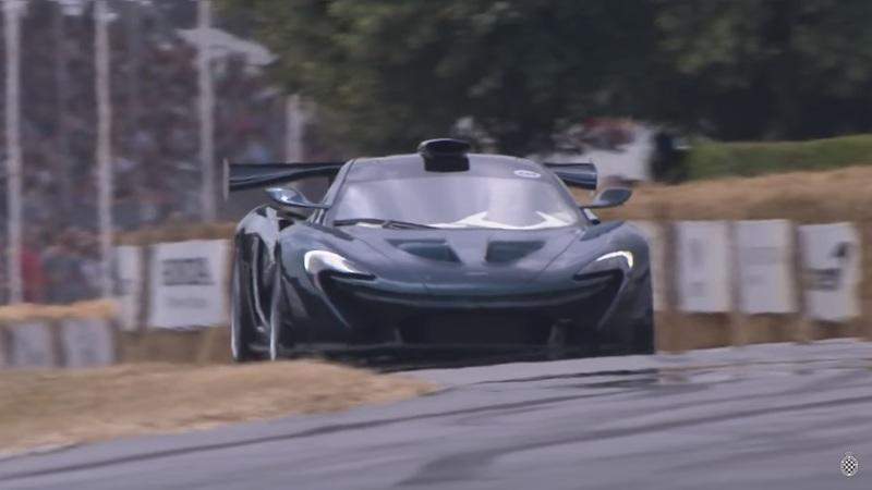 Video: Watch the McLaren P1 By Lanzante Take the Hill at Goodwood