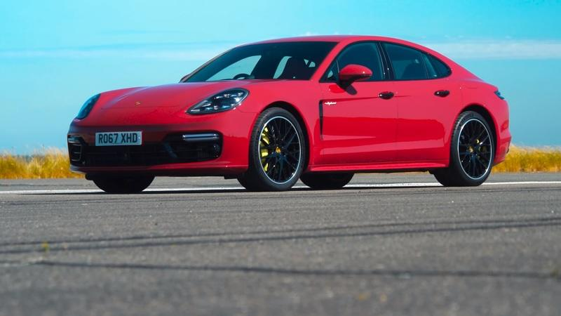 Watch a BMW M5, Mercedes-AMG E63 S, and a Porsche Panamera Turbo S Duke it Out!