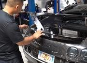 Watch How the $21,000, 27-Hour Oil Change is Done on a Bugatti Veyron - image 787605
