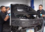 Watch How the $21,000, 27-Hour Oil Change is Done on a Bugatti Veyron - image 787607