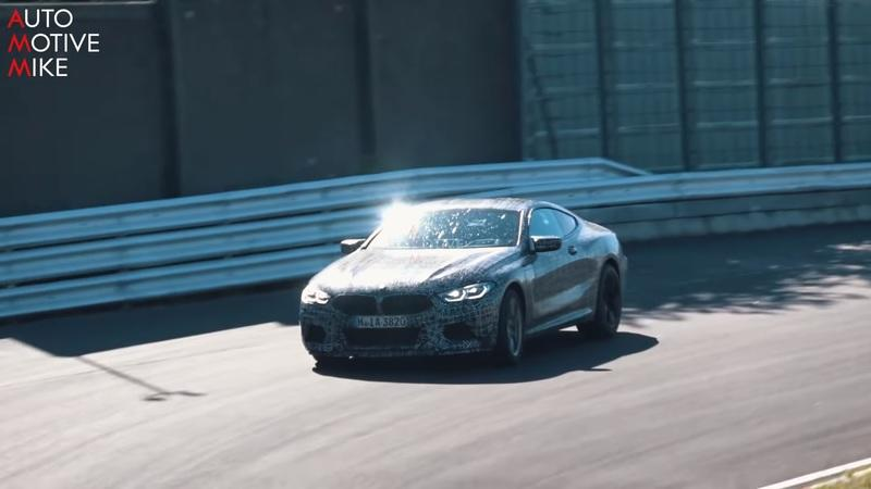 Watch the BMW M8 Tear Ass Around the Nurburgring