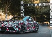 Watch the New Toyota Supra in Action at Goodwood (Video) - image 786400
