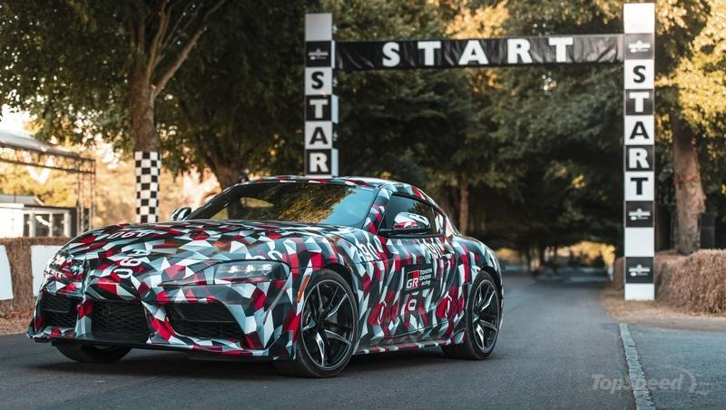 Watch the New Toyota Supra in Action at Goodwood (Video)