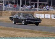 Watch the Original 1968 Ford Mustang Bullitt and the Dodge Challenger Battle up Goodwood Hill in the Coolest Movie Car Chase Ever Recreated - image 786765