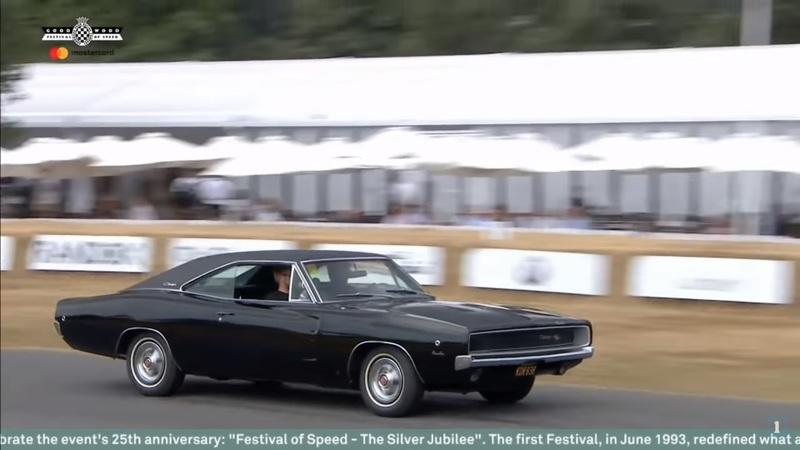 Watch the Original 1968 Ford Mustang Bullitt and the Dodge Challenger Battle up Goodwood Hill in the Coolest Movie Car Chase Ever Recreated