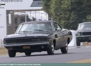 Watch the Original 1968 Ford Mustang Bullitt and the Dodge Challenger Battle up Goodwood Hill in the Coolest Movie Car Chase Ever Recreated - image 786770