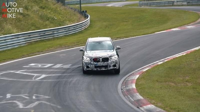 BMW X3 M Looks Nimble on the Nurburgring