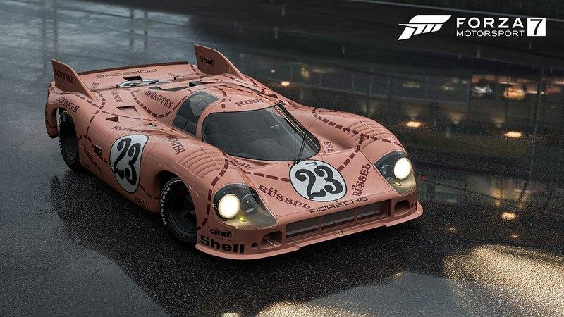 "You Can Now Drive the Crazy Porsche ""Pink Pig"" in Forza Motorsport 7"